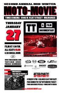 2010 Mid-Winter Moto-Movie Night Poster